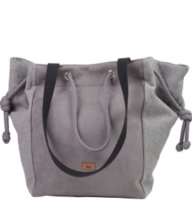 Basic me 21 eco suede gray-ash
