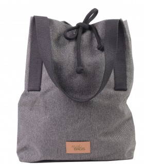 Tkaninowa torebka basic-weekend bag