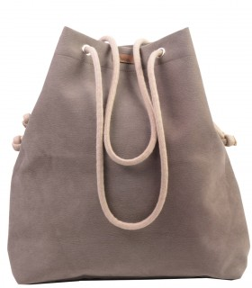 Basic me 15 eco suede taupe