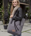 Tkaninowa torebka basic-weekend bag