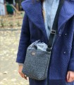 "Basic me 22 ""Duo mini"" fabric bag gray"