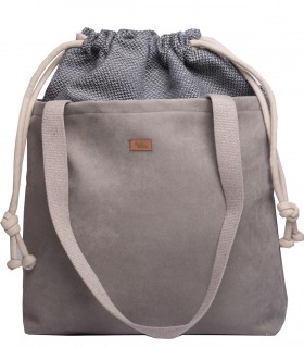 """Basic me 19 """"Duo"""" eco suede gray"""