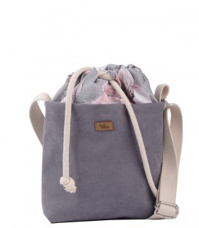 "Basic me 22 ""Duo mini"" eco suede gray PARIS"