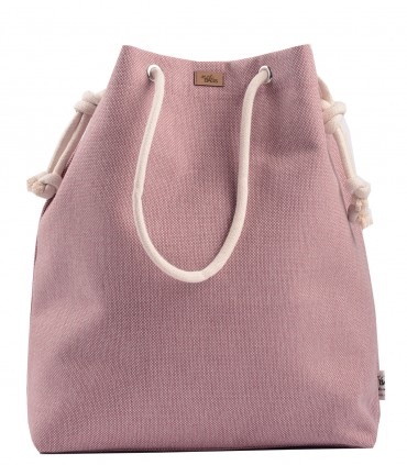 SACK BAG ME 15 FABRIC light pink