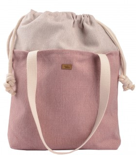 "Basic me 19 ""Duo"" bag fabric pink"