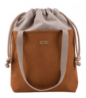 "Basic me 19 ""Duo"" eco suede caramel"