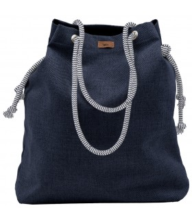 Basic me 15 fabric handbag - navy blue