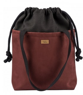 "Basic me 19 ""Duo"" eco suede burgundy"