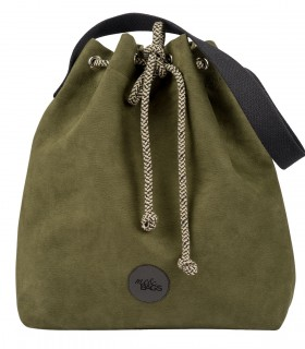 Basic me 16 Bucket Bag eco suede khaki