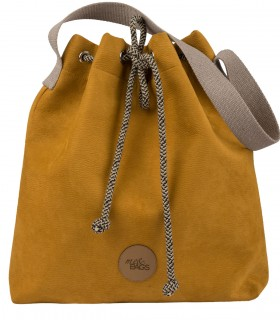 Bucket Bag eco suede yellow