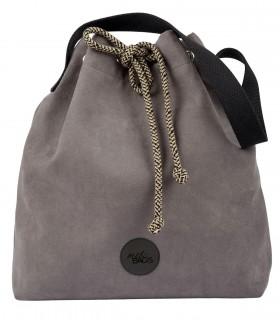 Basic me 16 Bucket Bag eco suede grey