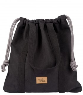 Basic me 25 eco suede black