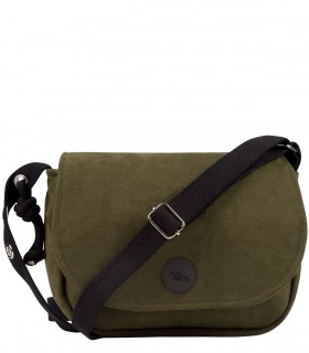 CROSSBODY ECO-SUEDE KHAKI
