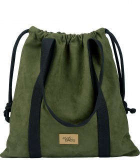 Basic me 25 Baggy eco suede khaki