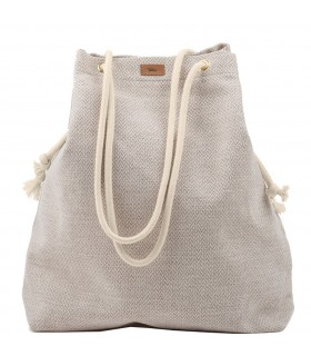 Basic me 15 fabric handbag - cream