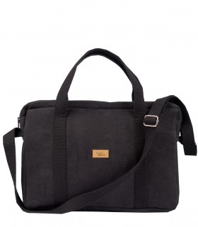 LAPTOP BAG SIZE 14/16 INCHES ECO-SUEDE BLACK