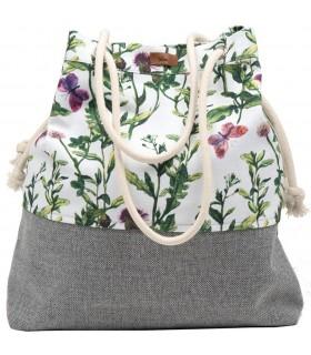Tkaninowa torebka basic me 15 kwiaty