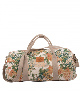 "SPORT AND TRAVEL BAG ""WEEKENDER"" FABRIC BLOOM"