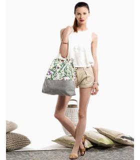 Basic me 15 fabric handbag - flowers