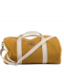 "SPORT AND TRAVEL BAG ""WEEKENDER"" ECO SUEDE YELLOW"