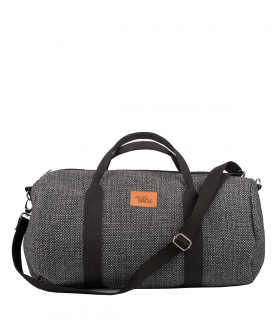 "SPORT AND TRAVEL BAG ""WEEKENDER"" FABRIC GREY"