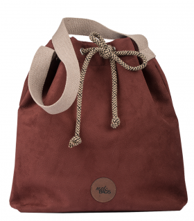 copy of Basic me 16 Bucket Bag eco suede BURGUNDY