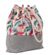 SACK BAG ME 15 FABRIC EXOTIC FLOWERS