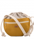 CROSSBODY BAGS ECO SUEDE FADED YELLOW
