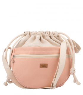 CROSSBODY BAGS ECO SUEDE PINK