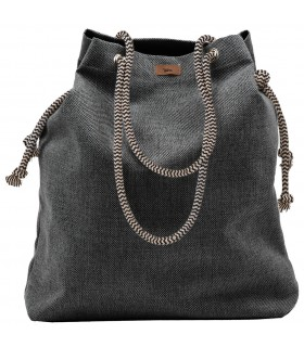Basic me 15 fabric handbag - ash
