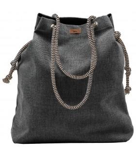 Basic me 15 fabric handbag - ash