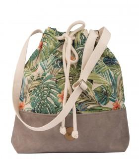 copy of Basic me 16 Bucket Bag eco suede BURGUNDY