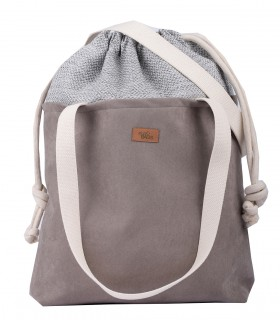 "Basic me 19 ""Duo"" eco suede taupe"