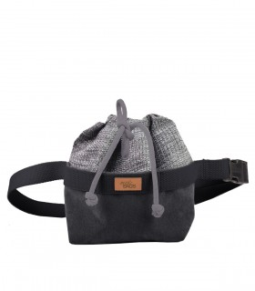 copy of Women's kidney bag eco-suede grey