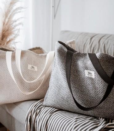 ALL-IN BAG, tkaninowa torba na WSZYSTKO, szara