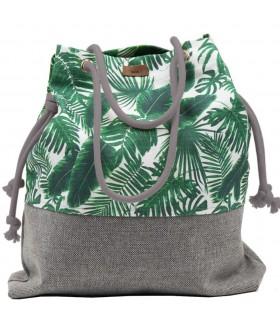 Tkaninowa torebka basic me 15 w palmy