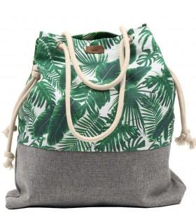 Basic me 15 fabric handbag - palm trees