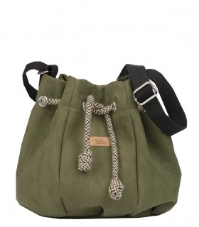 copy of Bucket Bag eco suede grey