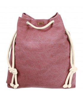 Basic me 15 fabric handbag - pink