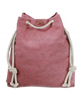 Tkaninowa torebka basic me 15 - róż