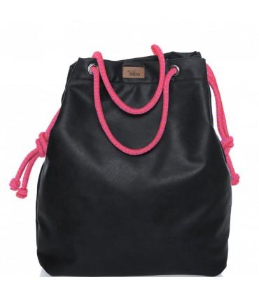 SACK BAG ME 15  eco-leather black