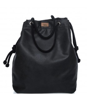 SACK BAG ME 15  eco-leather black