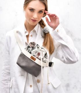 copy of Women's kidney bag eco-suede grey