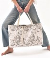 ALL-IN BAG, tkaninowa torba na WSZYSTKO, kwiatowy print