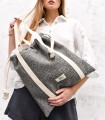 copy of LARGE BAGGY BAG ECO-SUEDE GRAY