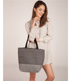 Shopper me 18 bag gray-ash