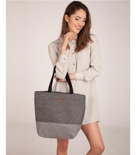 Shopper me 18 bag gray-ash