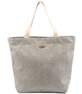 Shopper me 18 bag beige-gray