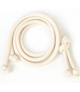 Bawełniany sznurek Kremowy