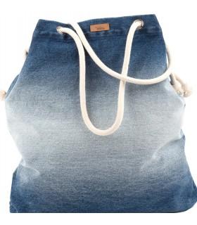 Tkaninowa torebka basic me 15 z jeansu